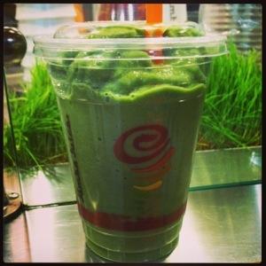 My Attempt to Get More Veggies :) Love Jamba Juice!
